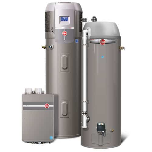 RHEEM HIGH-EFFICIENCY WATER TANK
